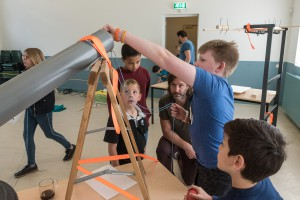 7 De Rube Goldberg Machine was populair
